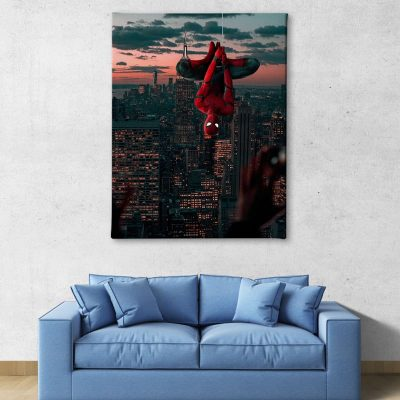 Ark Rebel Spiderman Homecoming Marvel Big Canvas Art