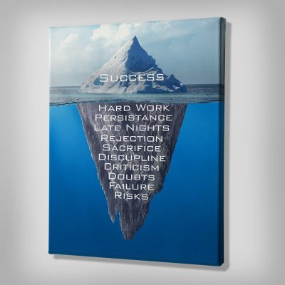 Ark Rebel Success Iceberg Office Wall Decor