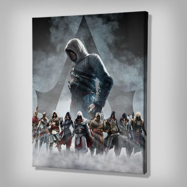 Ark Rebel The Creed Assassin's Creed Canvas Wall Decor