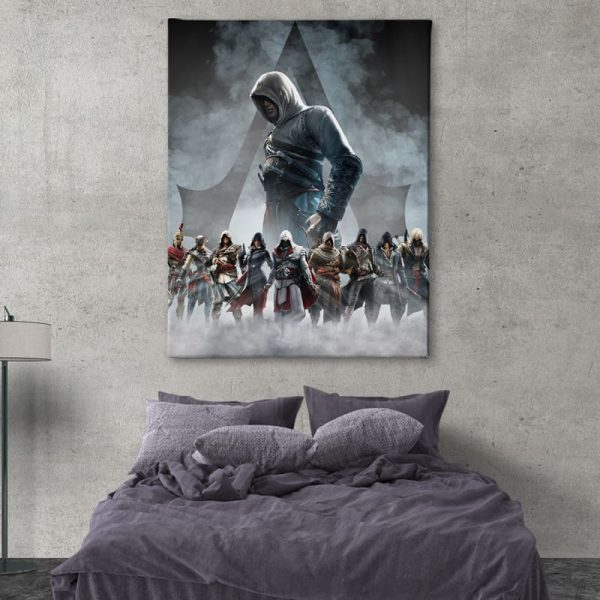 Ark Rebel The Creed Assassin's Creed Big Canvas Man Cave Wall Decor