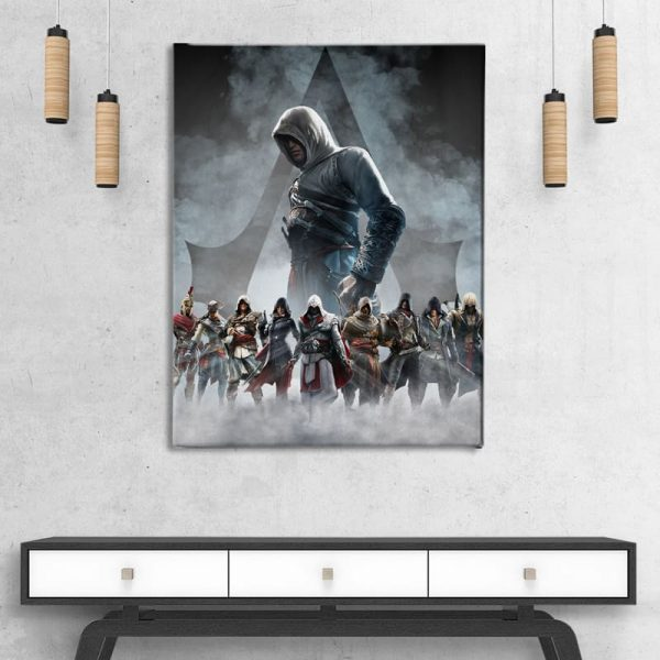 Ark Rebel The Creed Assassin's Creed Big Canvas Wall Decor